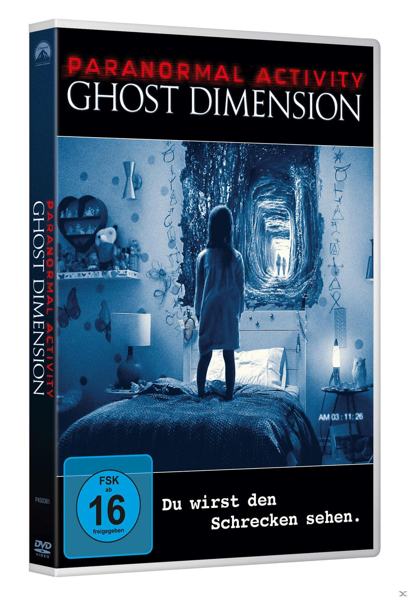 Paranormal Activity: The Ghost Dimension (DVD) für 8,99 Euro