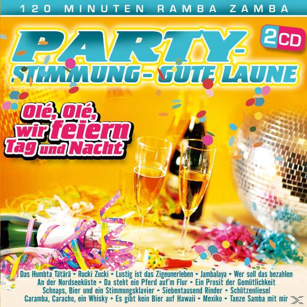 Party Stimmung gute Laune (VARIOUS) für 7,99 Euro