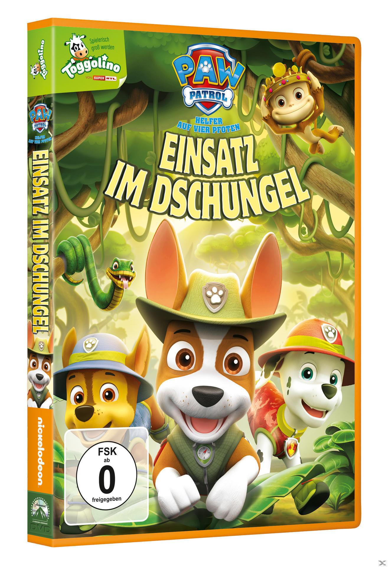 Paw Patrol: Einsatz im Dschungel (DVD) für 8,99 Euro