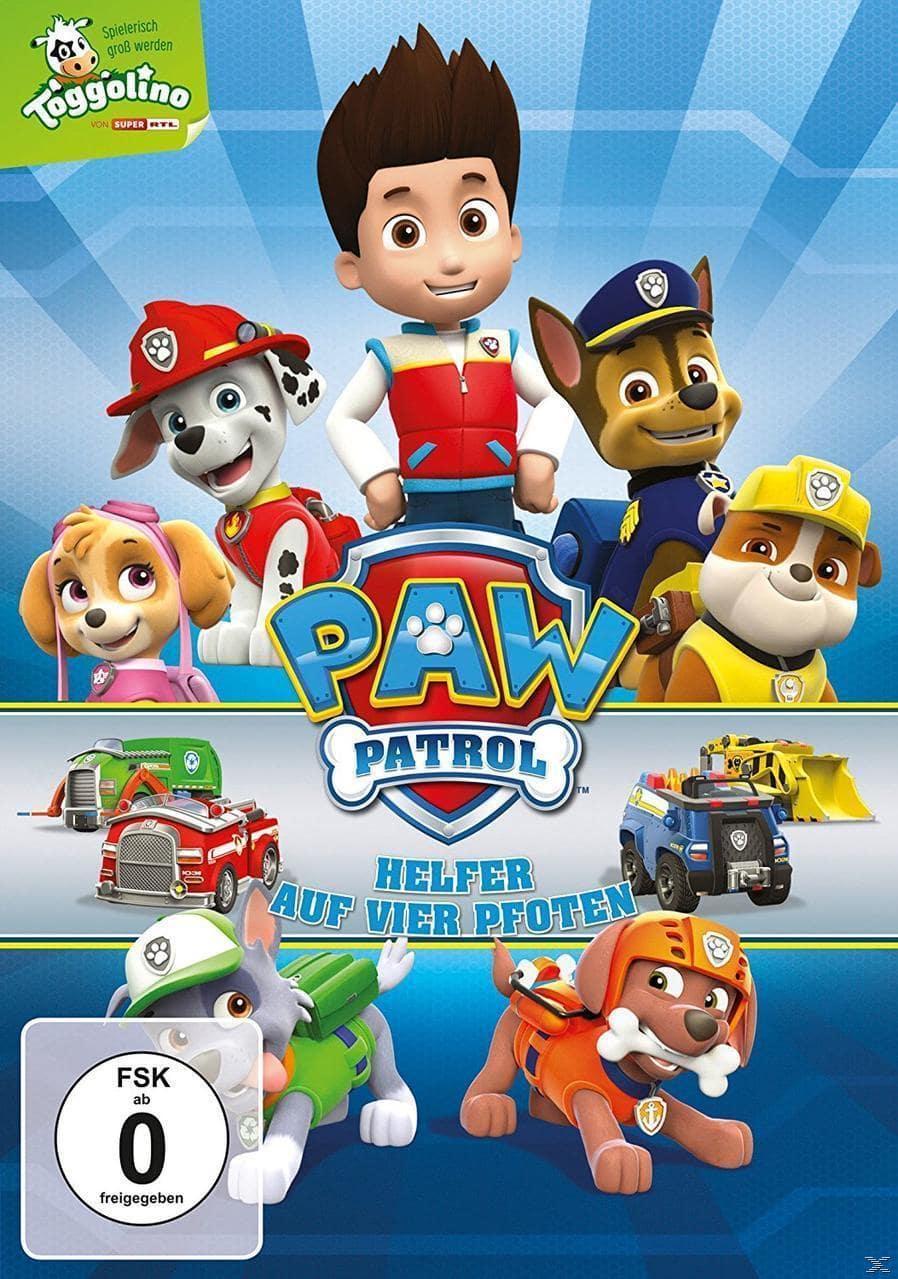 PAW Patrol - Helfer auf vier Pfoten - Folgen 1-10 (DVD) für 7,99 Euro
