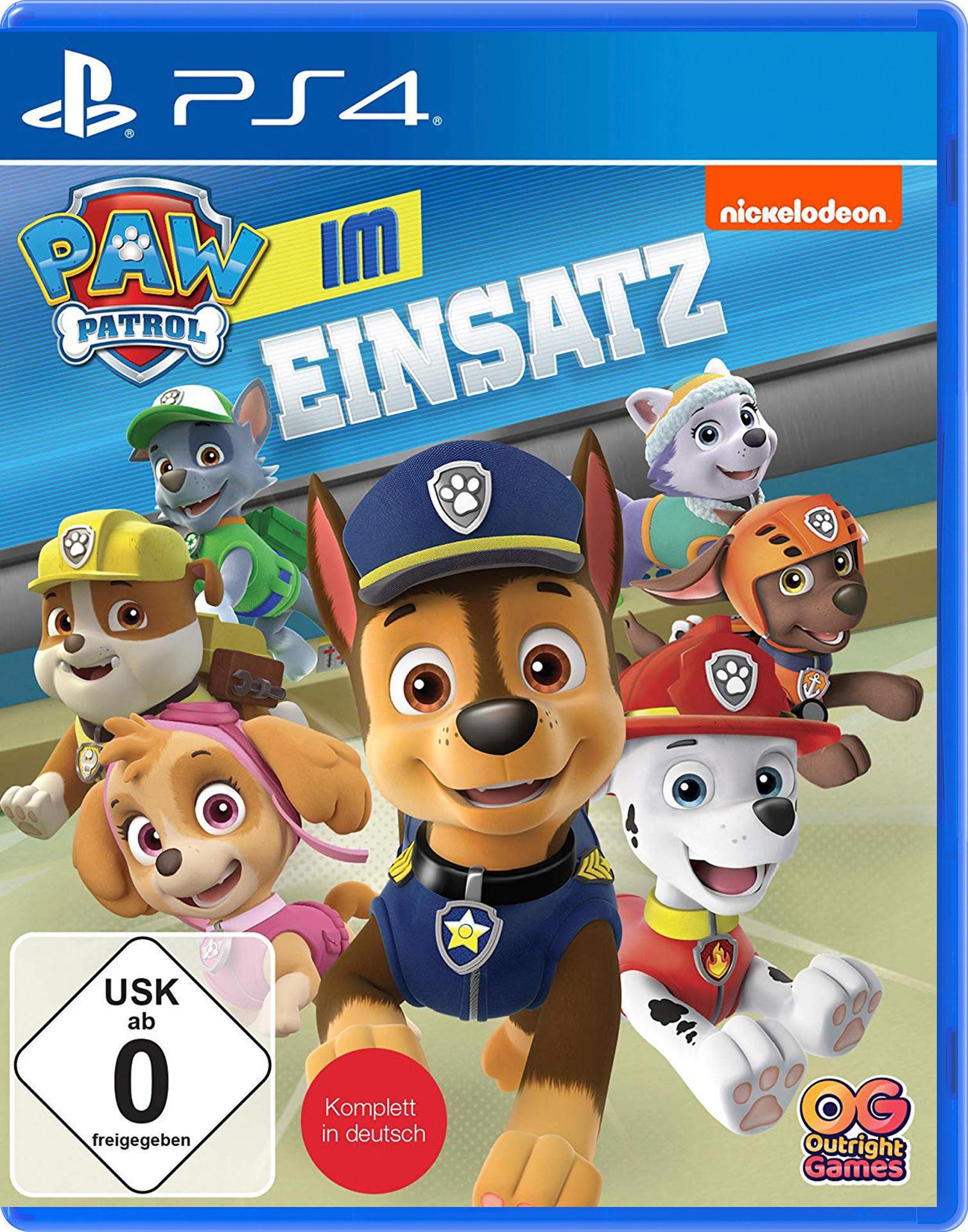 PAW Patrol: Im Einsatz (PlayStation 4) für 25,00 Euro
