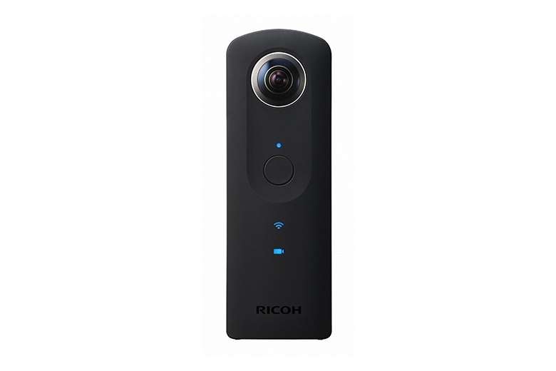 Pentax Ricoh Theta S Action Kamera Full-HD-Video WLAN 8GB Kugelpanorama für 399,00 Euro