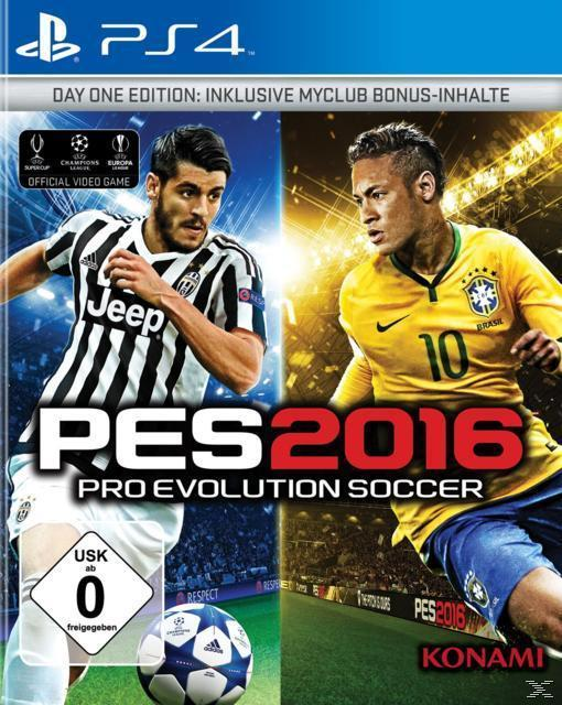 PES 2016: Pro Evolution Soccer - Day 1 Edition (PlayStation 4) für 2,99 Euro