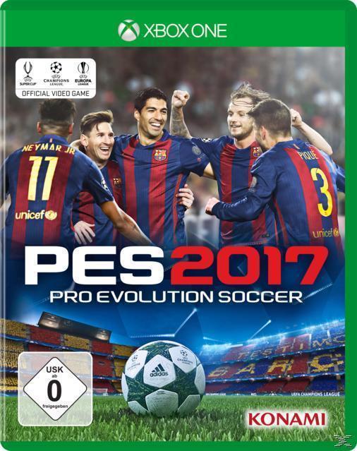 PES 2017 (Xbox One) für 39,99 Euro