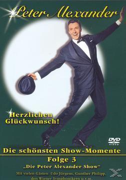 Peter Alexander - Die schönsten Show-Momente - Folge 3 (DVD) für 9,99 Euro