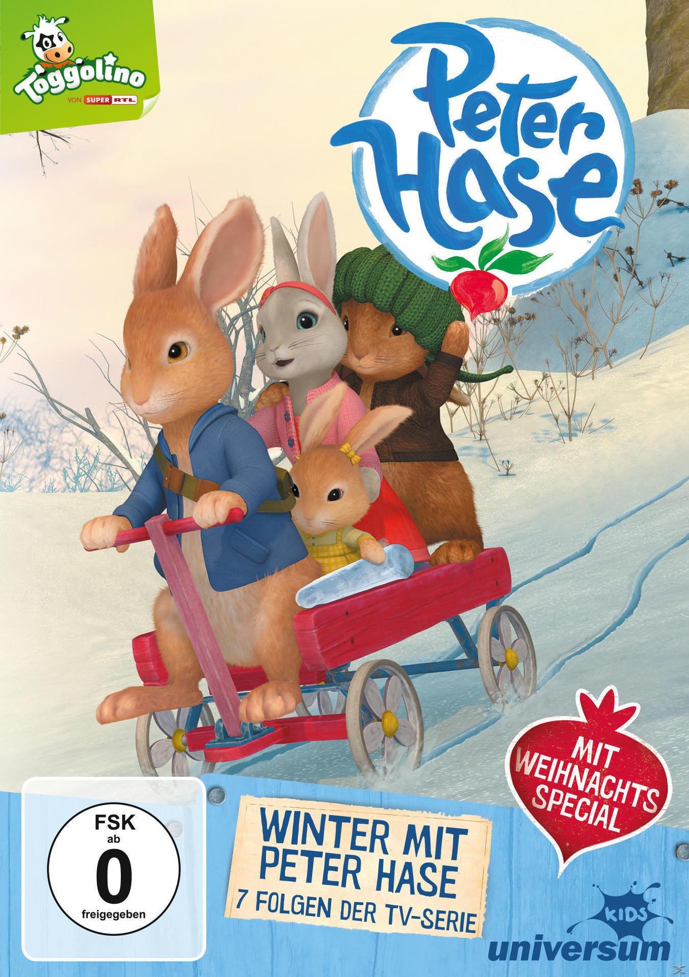 Peter Hase - Winter mit Peter Hase (DVD) für 9,74 Euro