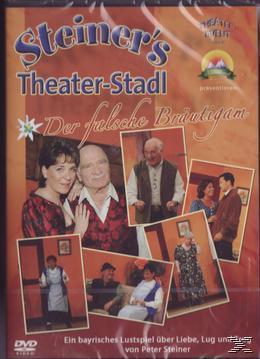 Peter Steiners Theaterstadl: Der Falsche Bräutigam (DVD) für 10,99 Euro