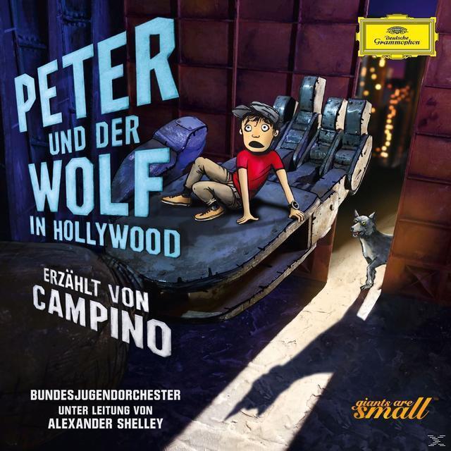 Peter und der Wolf in Hollywood (CD(s)) für 18,99 Euro