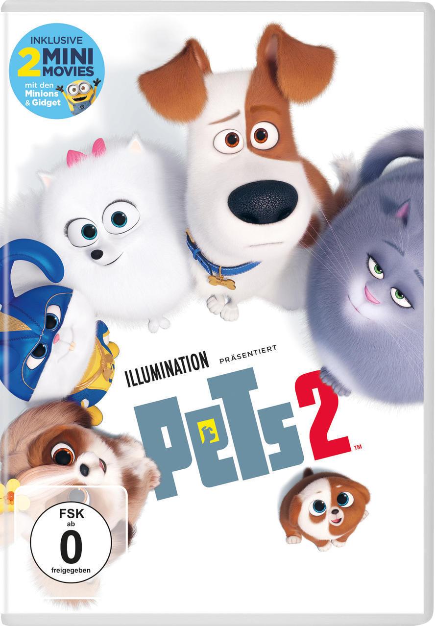 Pets 2 (DVD) für 8,99 Euro