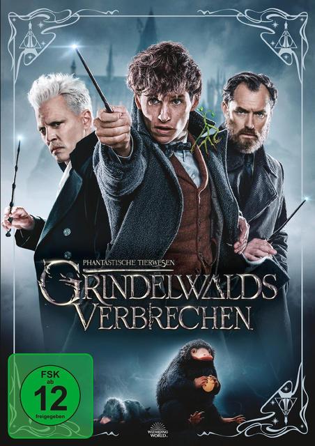 Phantastische Tierwesen: Grindelwalds Verbrechen (DVD) für 13,64 Euro