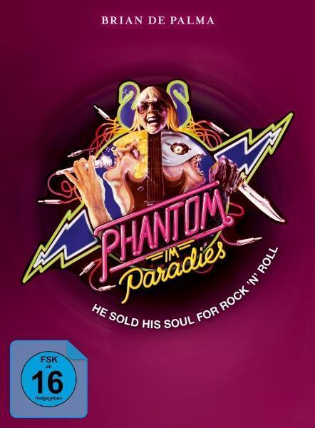 Phantom im Paradies - Phantom of the Paradise Mediabook (BLU-RAY + DVD) für 29,99 Euro