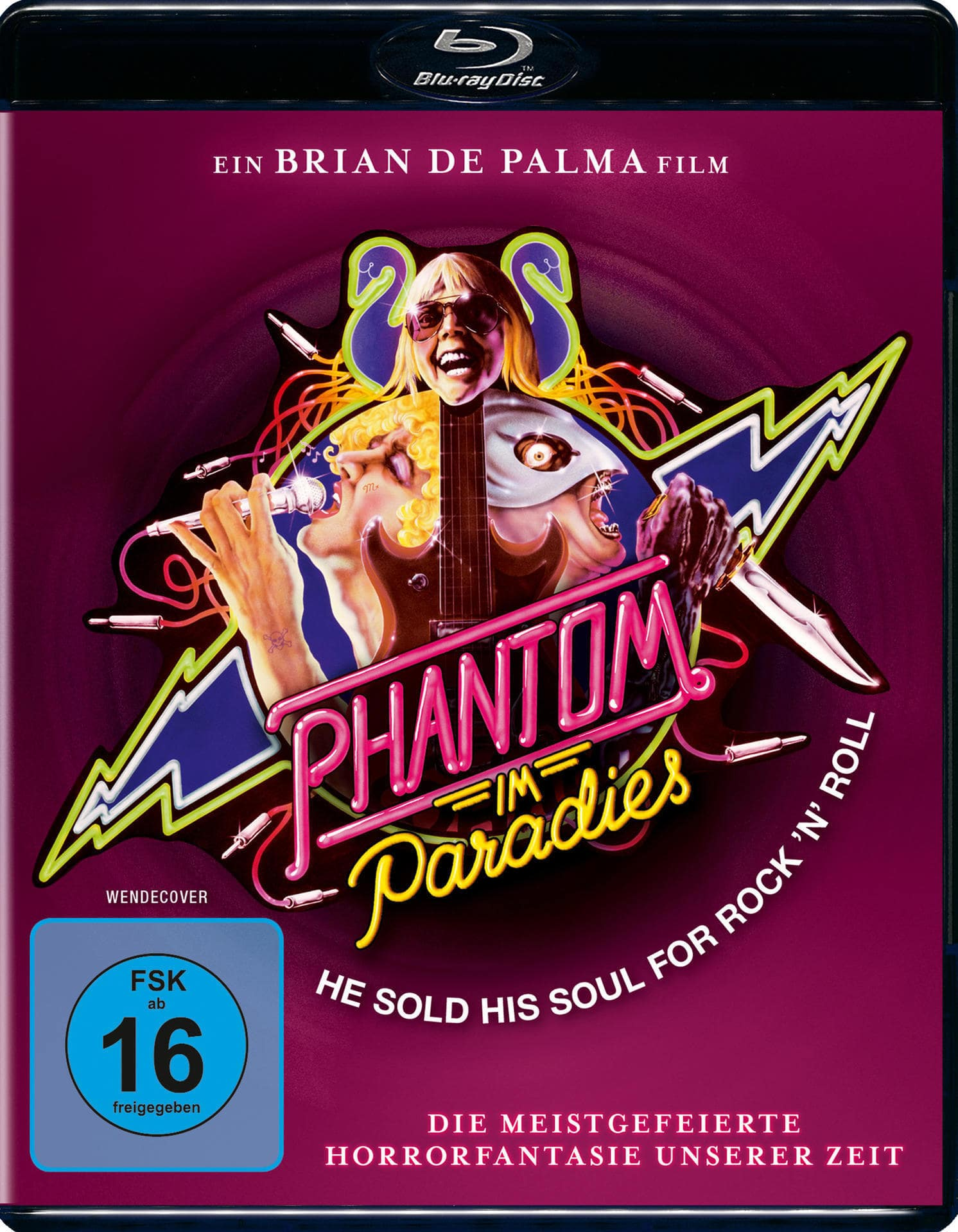 Phantom im Paradies - Phantom of the Paradise (BLU-RAY) für 14,99 Euro