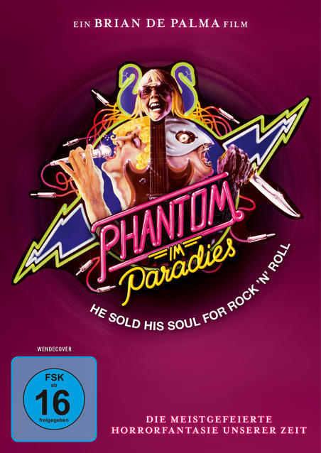 Phantom im Paradies - Phantom of the Paradise (DVD) für 12,99 Euro