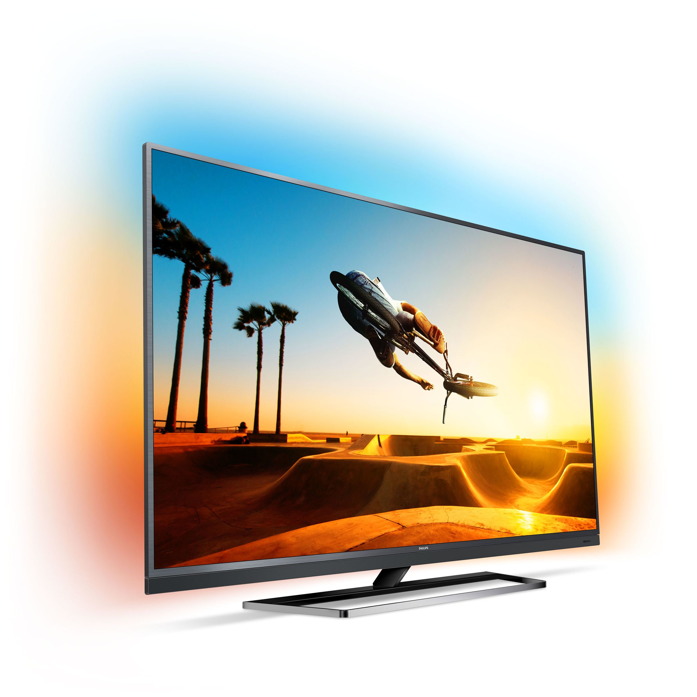 Philips 49PUS7502/12 Android-TV 123cm 49 Zoll LED 4K UHD A DVB-T2/C/S2 Ambilight für 1.029,00 Euro