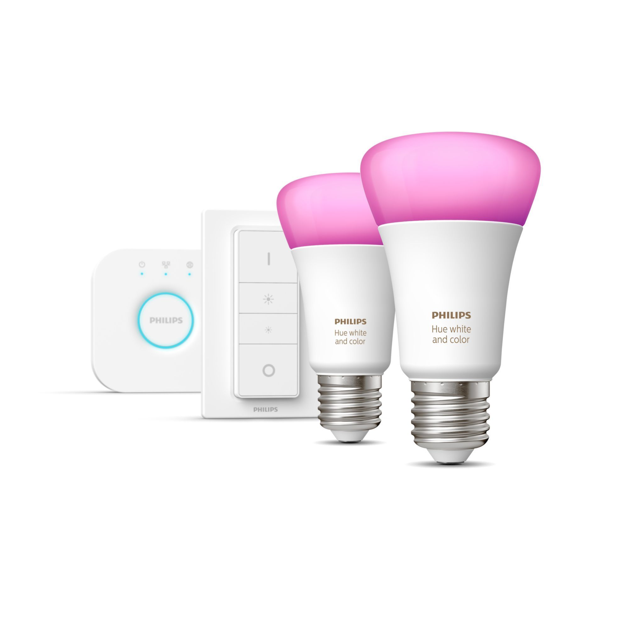 Philips by Signify Hue White and Color ambiance Starter-Kit, E27 für 149,99 Euro