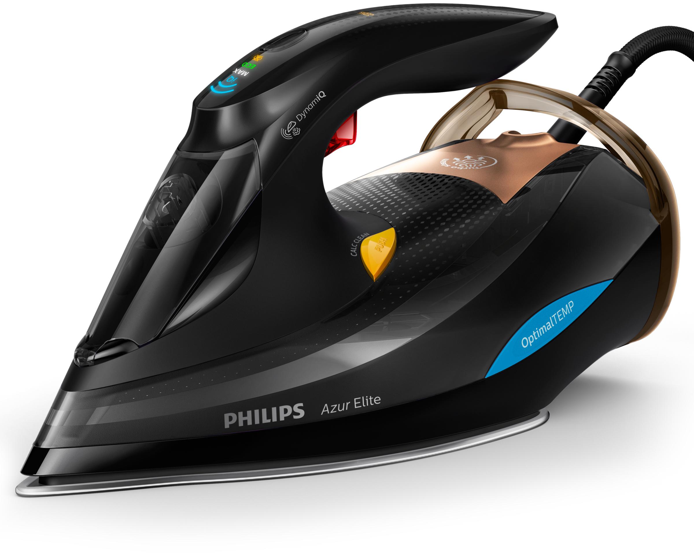 Philips GC5033/80 Azur Elite Dampfbügeleisen 3000W 2,5m 250g SteamGlide Advanced für 129,99 Euro