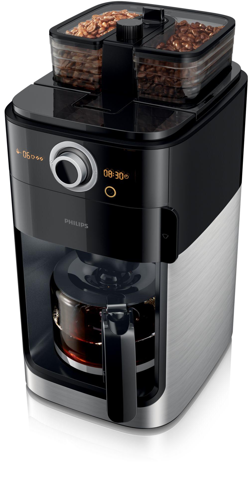 Philips HD7766/00 Grind & Brew Filterkaffeemaschine mit Mahlwerk für 149,99 Euro