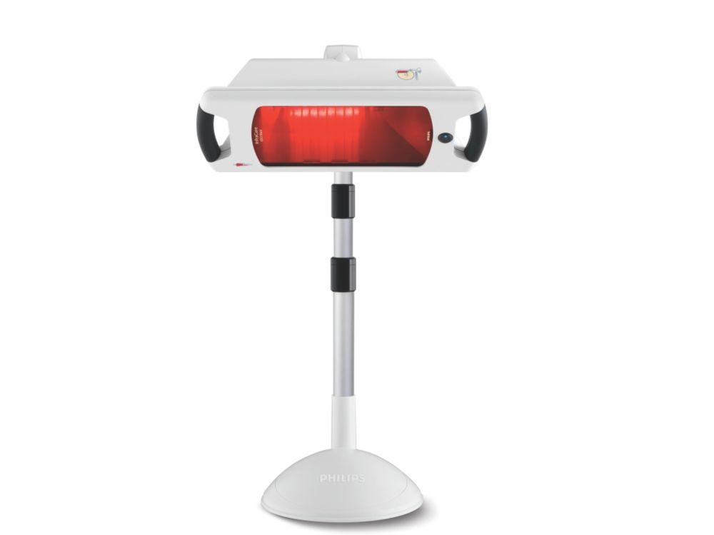 Philips InfraCare HP3643/01 Infrarotlampe 650W 3 Intensitätsstufen 62-127cm für 197,99 Euro