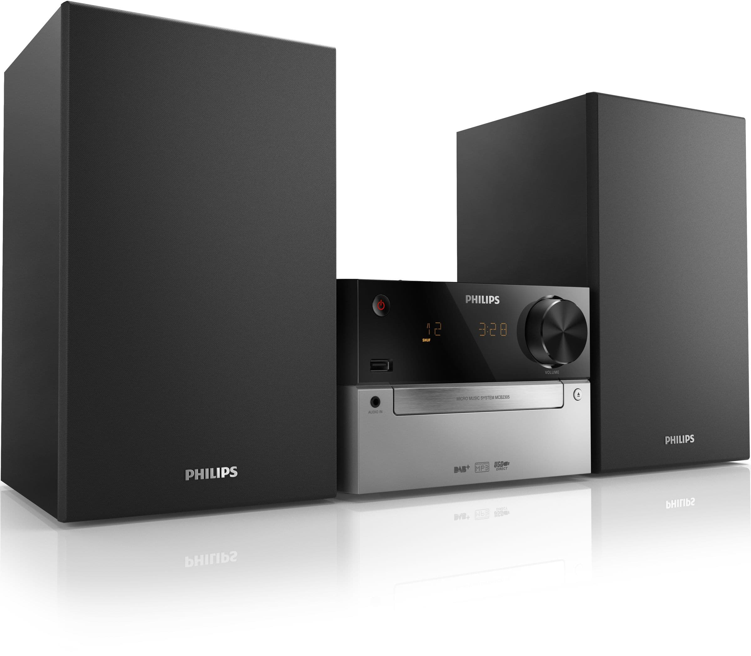 Philips MCB2305 Kompaktanlage CD CD-R/RW MP3-CD USB FM für 119,99 Euro