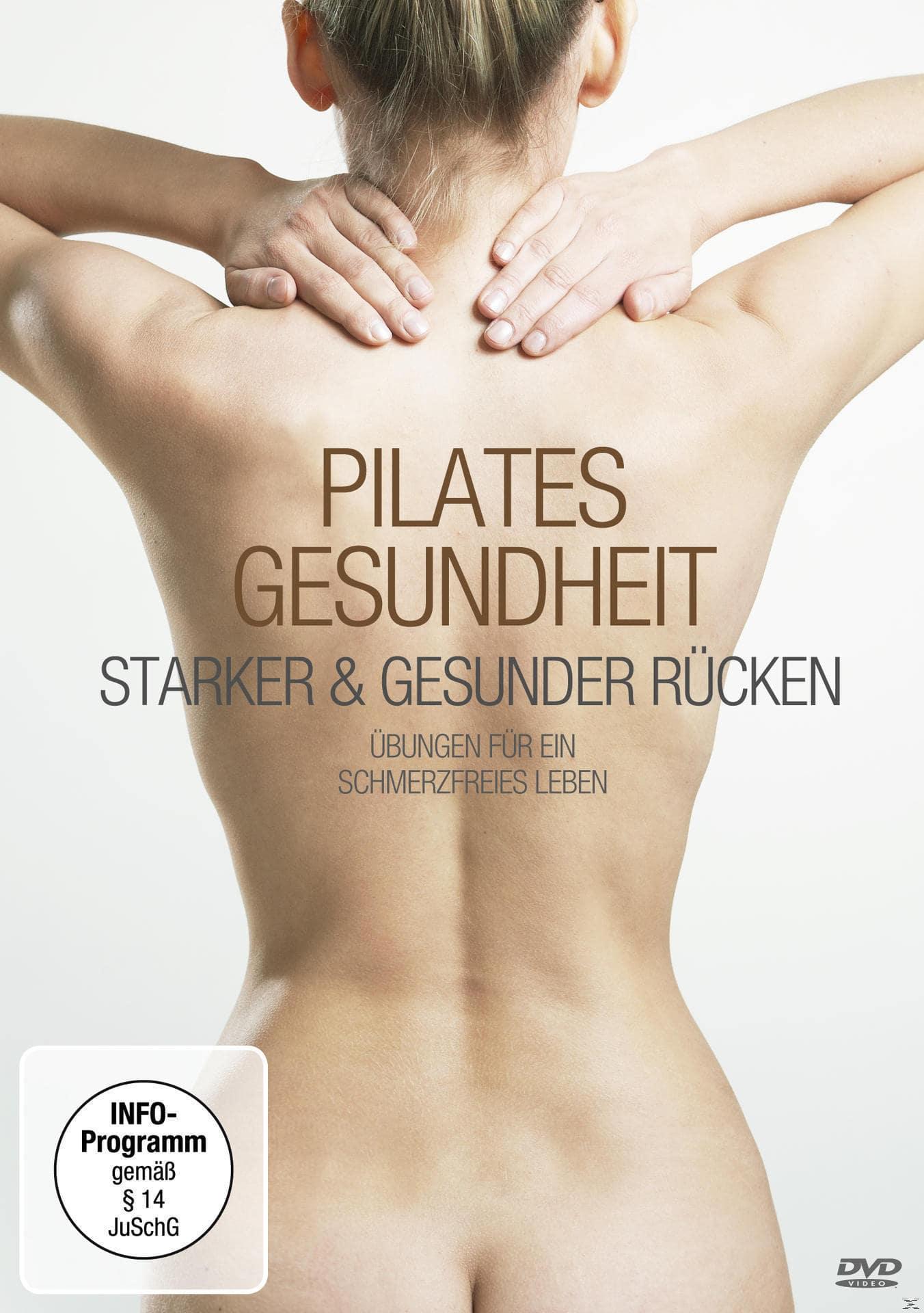 Pilates Gesundheit - Starker und gesunder Rücken (DVD) für 4,99 Euro