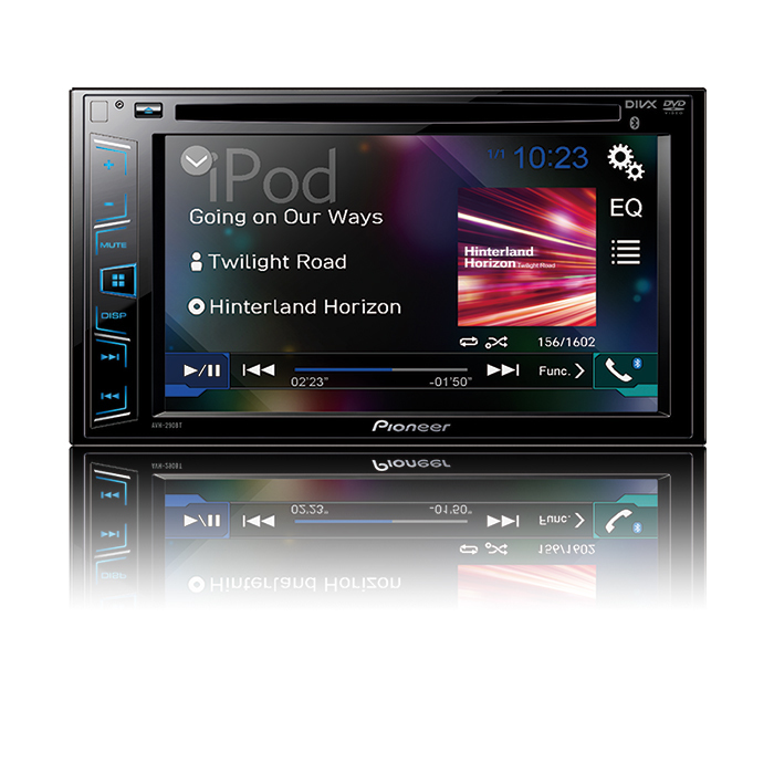 Pioneer AVH-290BT DoppelDIN-Moniceiver 4x50W 6,2'' CD/DVD Bluetooth USB für 249,00 Euro