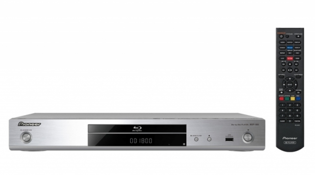 Pioneer BDP-180 3D Blu-ray-Player DLNA WLAN Miracast YouTube-Streaming-Client für 199,00 Euro