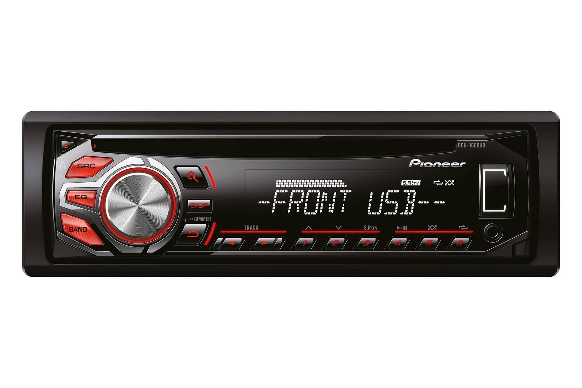 Pioneer DEH-1600UB inkl. 8GB USB-Stick für 54,99 Euro