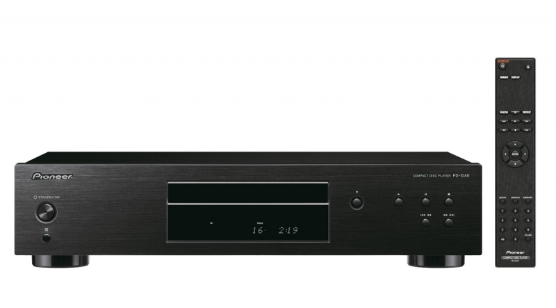 Pioneer PD-10AE-B Pure-Audio-CD-Player Silent-Drive-Laufwerk für 229,00 Euro