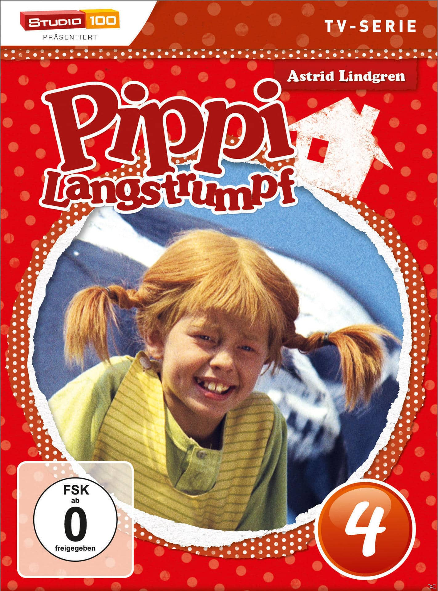 Pippi Langstrumpf TV-Serie - DVD 4 - Folge 14 - 17 (DVD) für 9,99 Euro