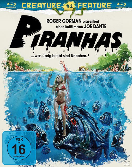 Piranhas Creature Features Collection (BLU-RAY) für 12,99 Euro