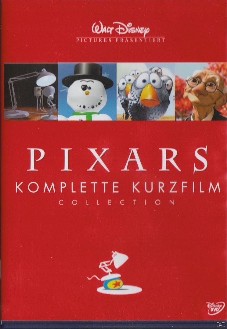 Pixars komplette Kurzfilm Collection (DVD) für 13,99 Euro