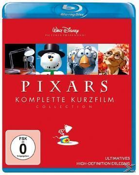 Pixars komplette Kurzfilm Collection (BLU-RAY) für 18,99 Euro