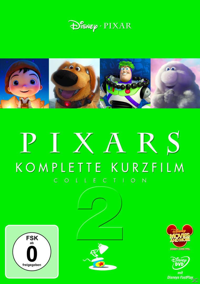 Pixars komplette Kurzfilm Collection 2 (DVD) für 8,99 Euro