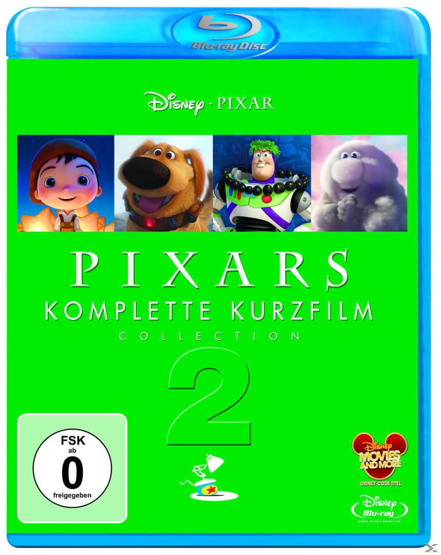 Pixars komplette Kurzfilm Collection 2 (BLU-RAY) für 18,99 Euro