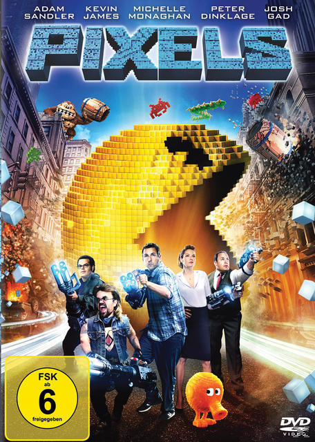 Pixels (DVD) für 9,99 Euro