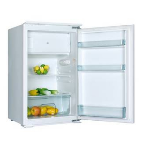 PKM KS 120.4A+ EB Einbau-Kühlschrank 105l/15l 172kWh/Jahr Schleppscharniere für 199,00 Euro
