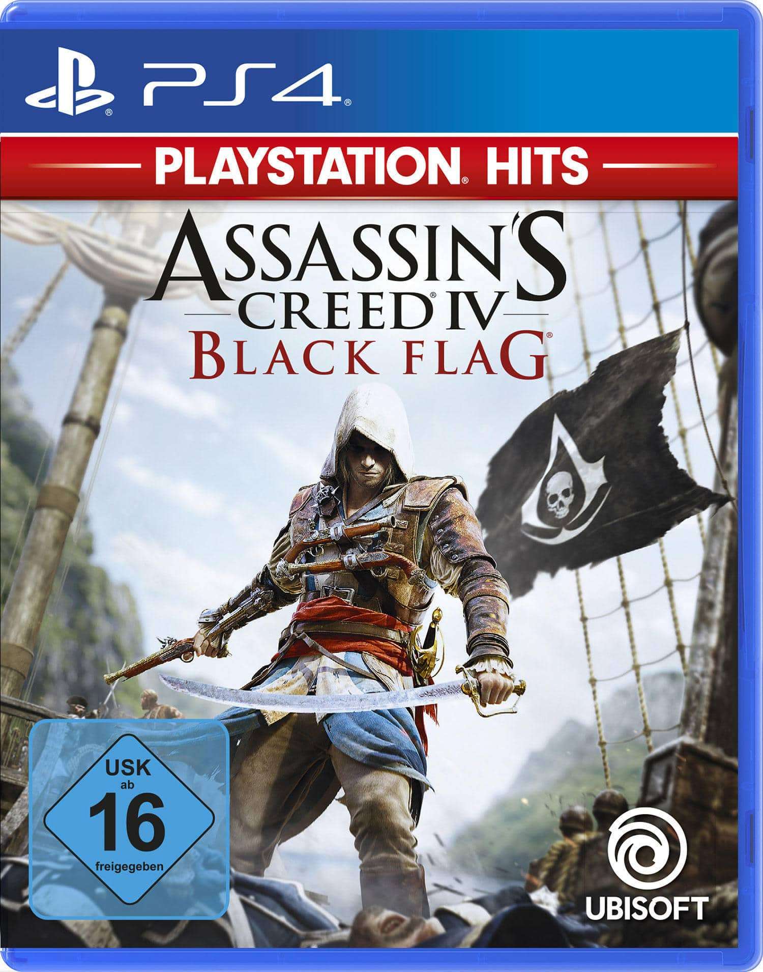 PlayStation Hits: Assassin's Creed IV - Black Flag (PlayStation 4) für 19,99 Euro