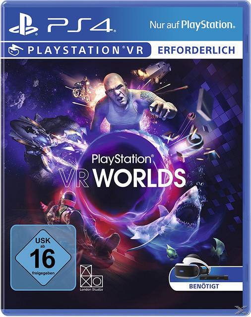 PlayStation VR Worlds (PlayStation 4) für 39,99 Euro