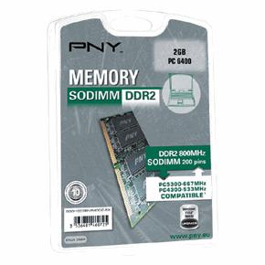 PNY 2GB Memory Module für 34,90 Euro
