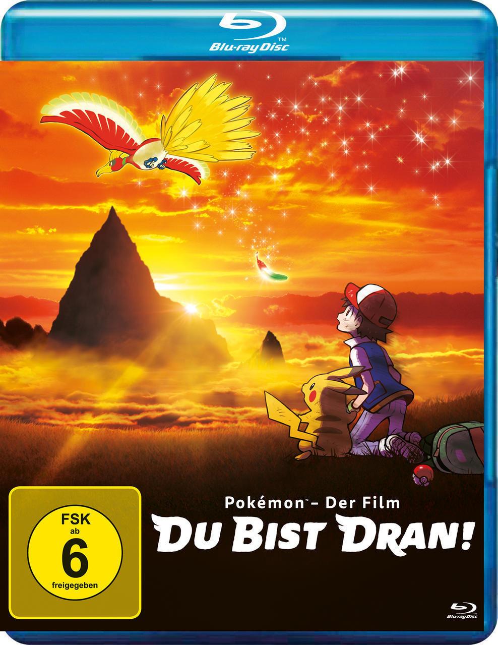Pokémon – Der Film: Du bist dran! (BLU-RAY) für 14,99 Euro