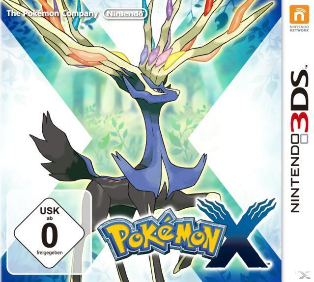 Pokémon X (Nintendo 3DS) für 39,00 Euro