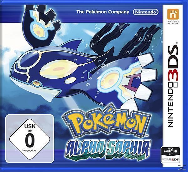 Pokemon Alpha Saphir (Nintendo 3DS) für 39,00 Euro