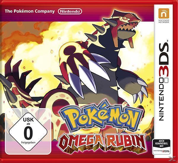 Pokemon Omega Rubin (Nintendo 3DS) für 39,00 Euro