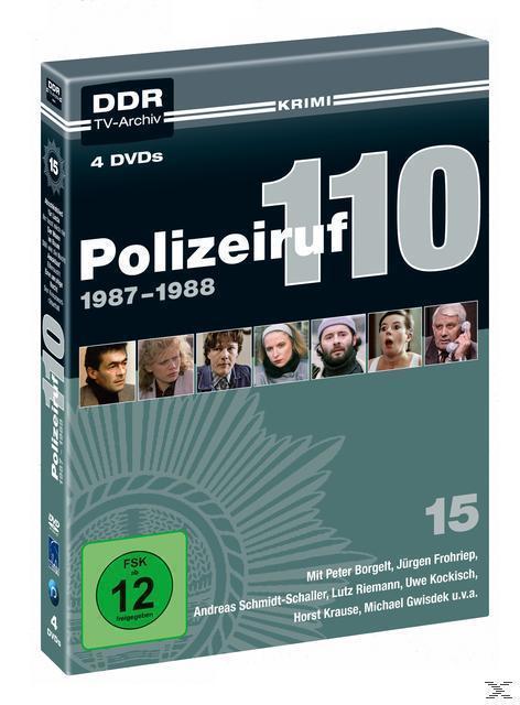 Polizeiruf 110 - Box 15: 1987-1988 DVD-Box (DVD) für 27,99 Euro