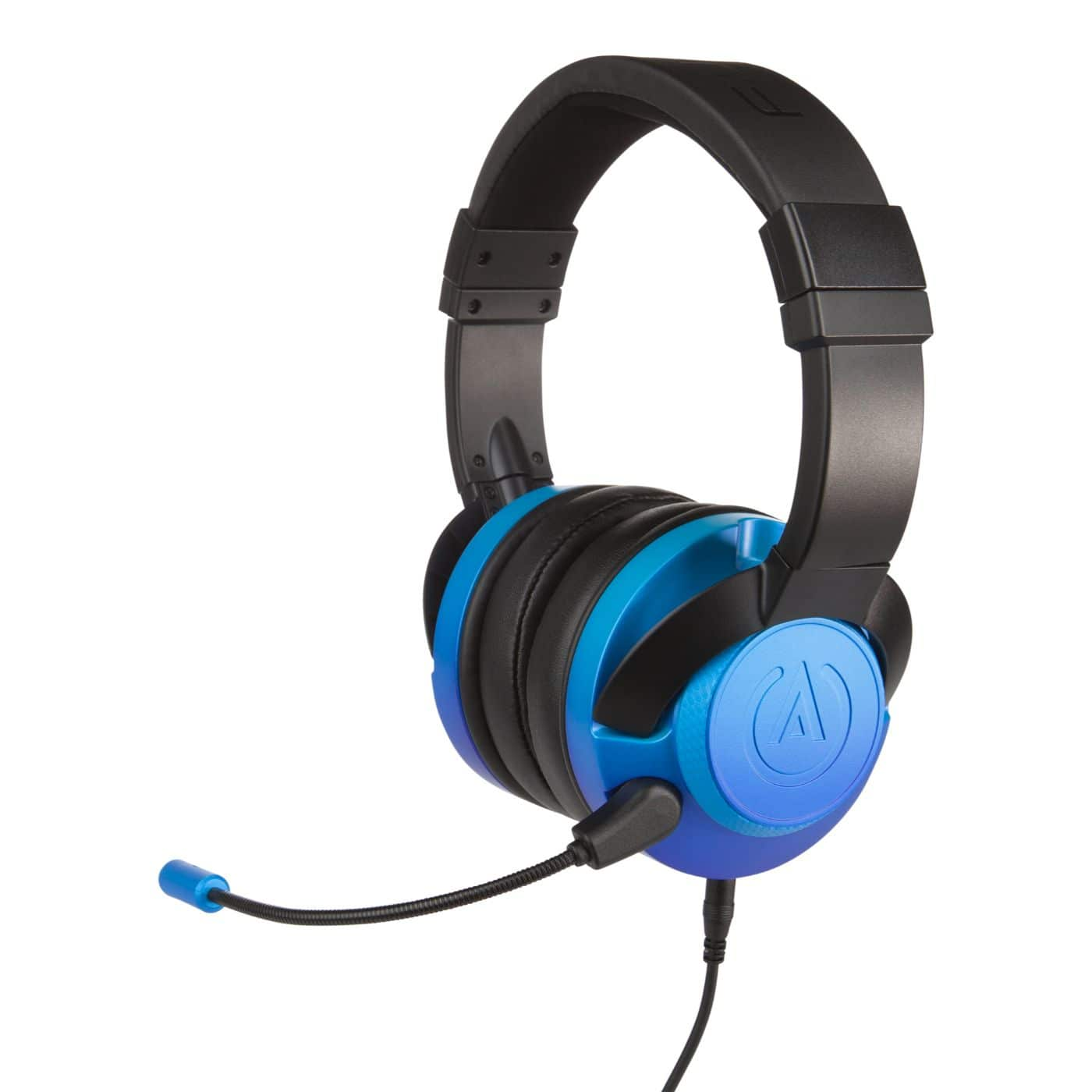 PowerA Fusion Gaming Headset Sapphire Fade Gaming Kopfhörer Xbox, PS4, Switch, PC, Mac, Mobile kabelgebunden für 39,99 Euro