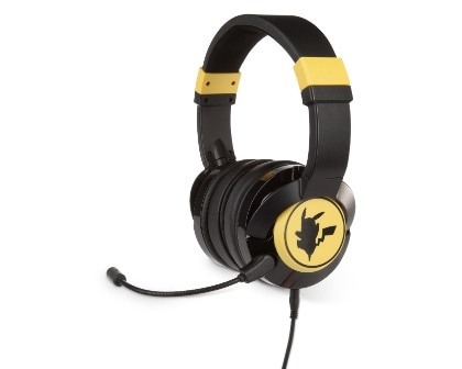 PowerA Wired Gaming Headset Pikachu Silhouette Gaming Kopfhörer Xbox, PS4, Switch, PC, Mac, Mobile kabelgebunden für 49,99 Euro