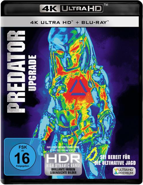 Predator-Upgrade (4K Ultra HD BLU-RAY + BLU-RAY) für 28,99 Euro