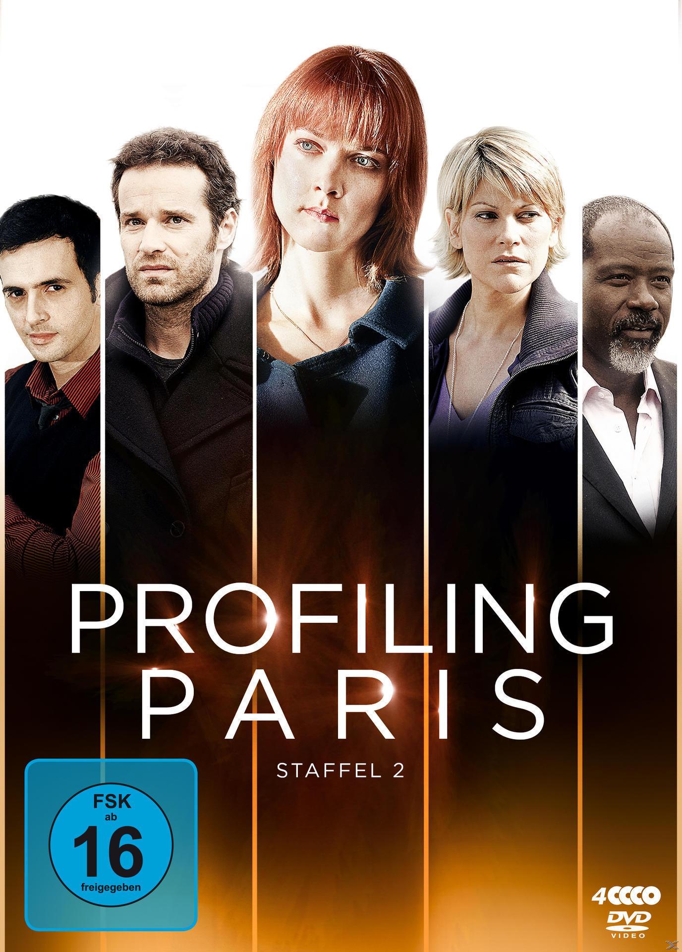Profiling Paris - Staffel 2 DVD-Box (DVD) für 16,99 Euro