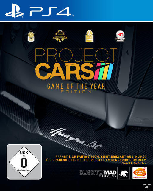 Project CARS - Game of the Year Edition (PlayStation 4) für 34,99 Euro