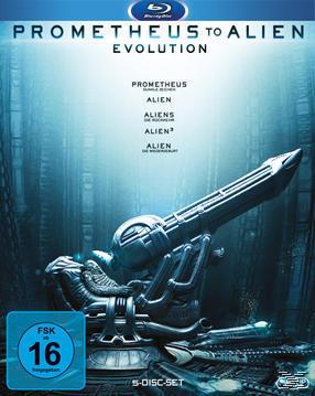 Prometheus to Alien - The Evolution Bluray Box (BLU-RAY) für 29,99 Euro